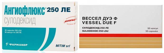 Вессел дуэ ф - инструкция по применению в таблетках, ампулах